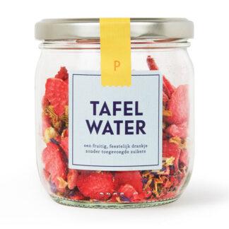 Pineut Tafelwater Pot Aardbei jasmijn Korenbloem